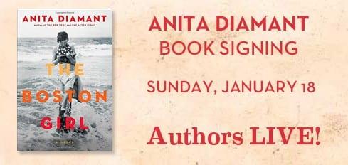 Anita Diamant Book Signing at SMU