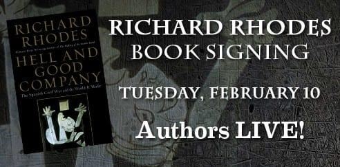 Richard Rhodes Book Signing at SMU