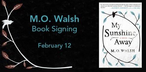 M.O. Walsh Book Signing at SMU, Feb. 12