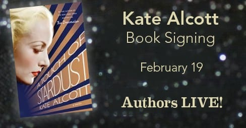 Kate Alcott Book Signing, Feb. 19