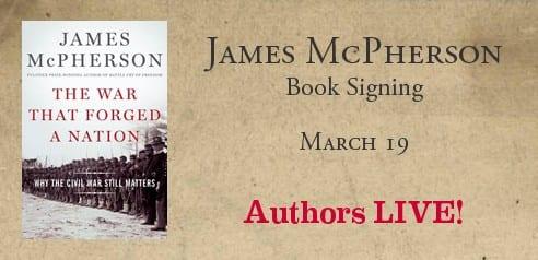 James McPherson Book Signing at SMU