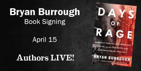 Bryan Burrough Book Signing