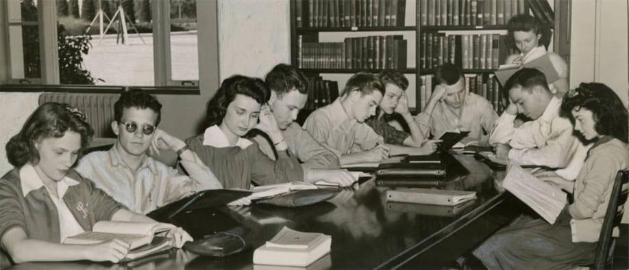 Fondren Library, 1940s