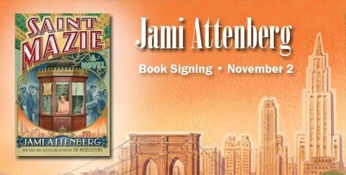 Jami Attenberg Book Signing at SMU
