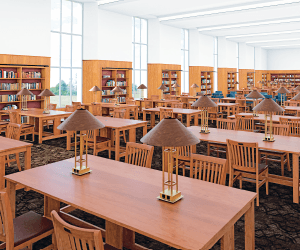 Fondren Library Reading Room