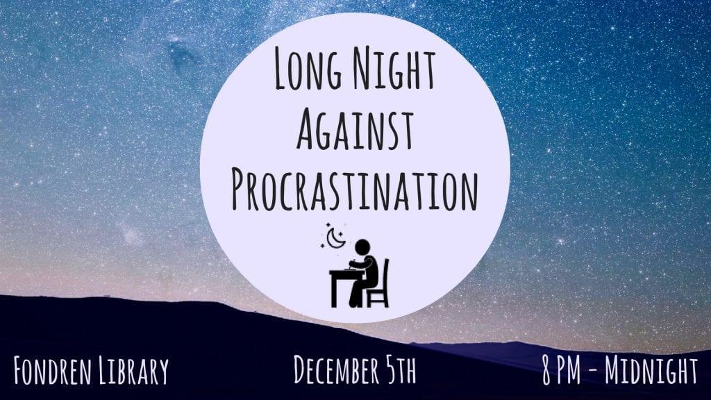 Long Night Against Procrastination image