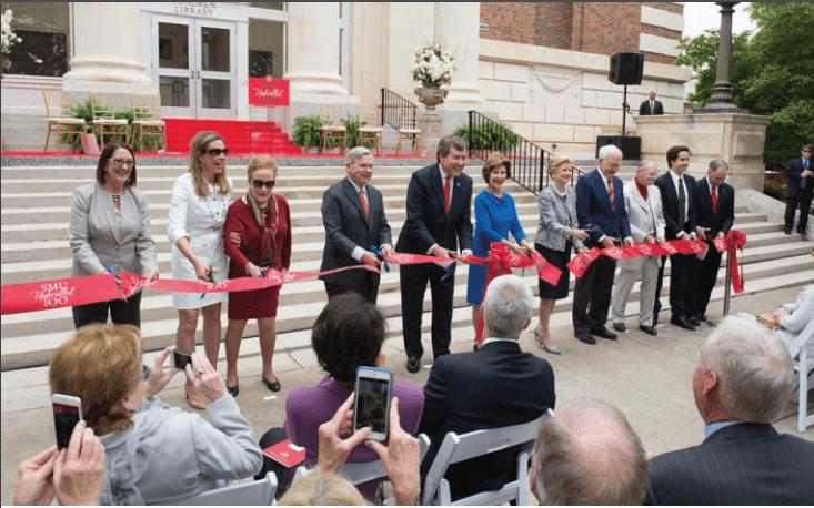 Fondren Library Renovation Ribbon Cutting Ceremony, April 15, 2016