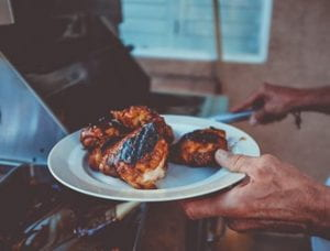Sticky Grilled Chicken
