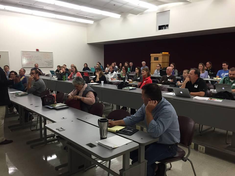 Attendees Engrossed
