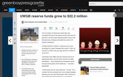 P-G fund balances