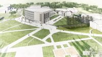 Cofrin Research Center architectural rendering