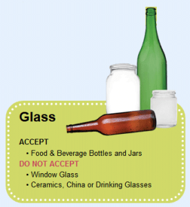 How to recylce glass