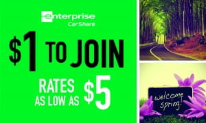 Car Share Promotion Banner