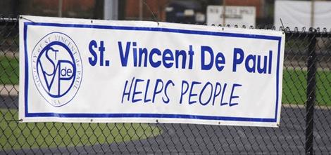Banner of St. Vincent De Paul