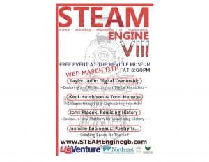 STEAM Engine VIII Poster