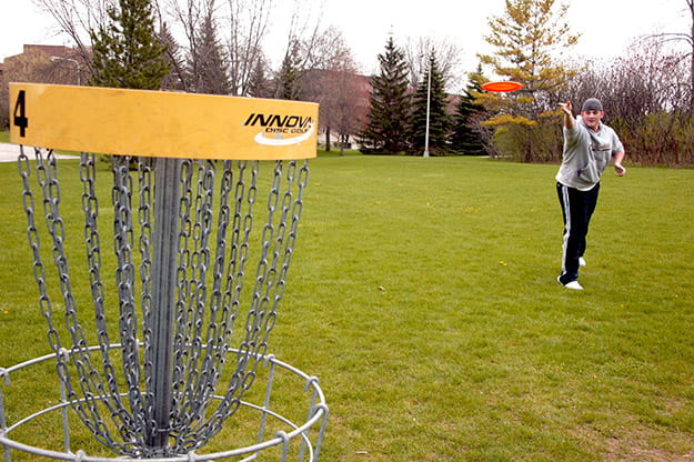 UWGB Disc Golf Course