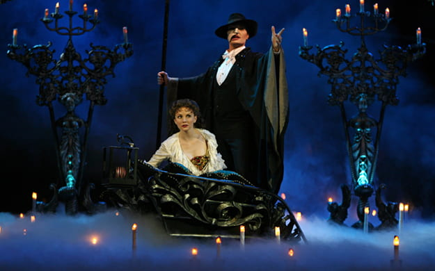 Scene from Phantom of the Opera