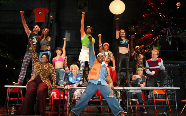 Scene from Rent