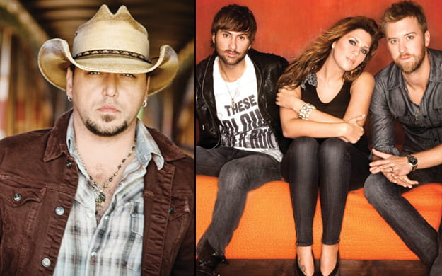 James Aldean and Lady Antebellum