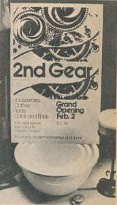 2nd Gear UWGB Thrif Shop 1