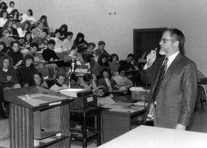 Joe Moran Lecturing