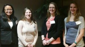 AHEC interdisciplinary team from UWGB
