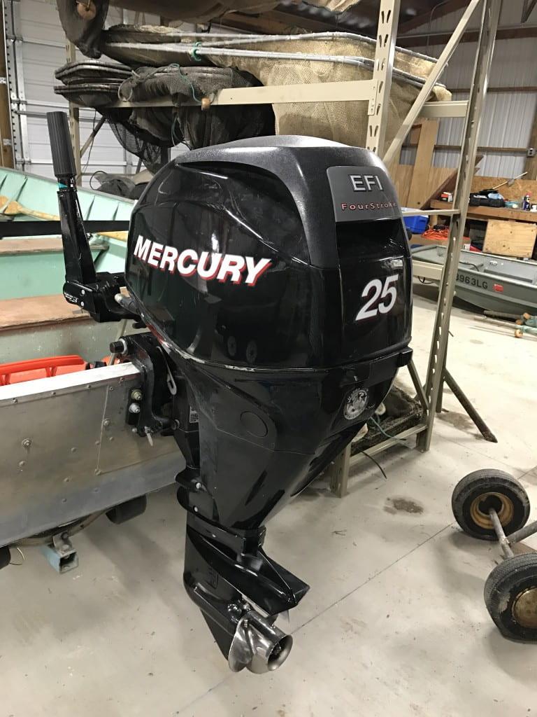 25 hp Mercury 4 Stroke