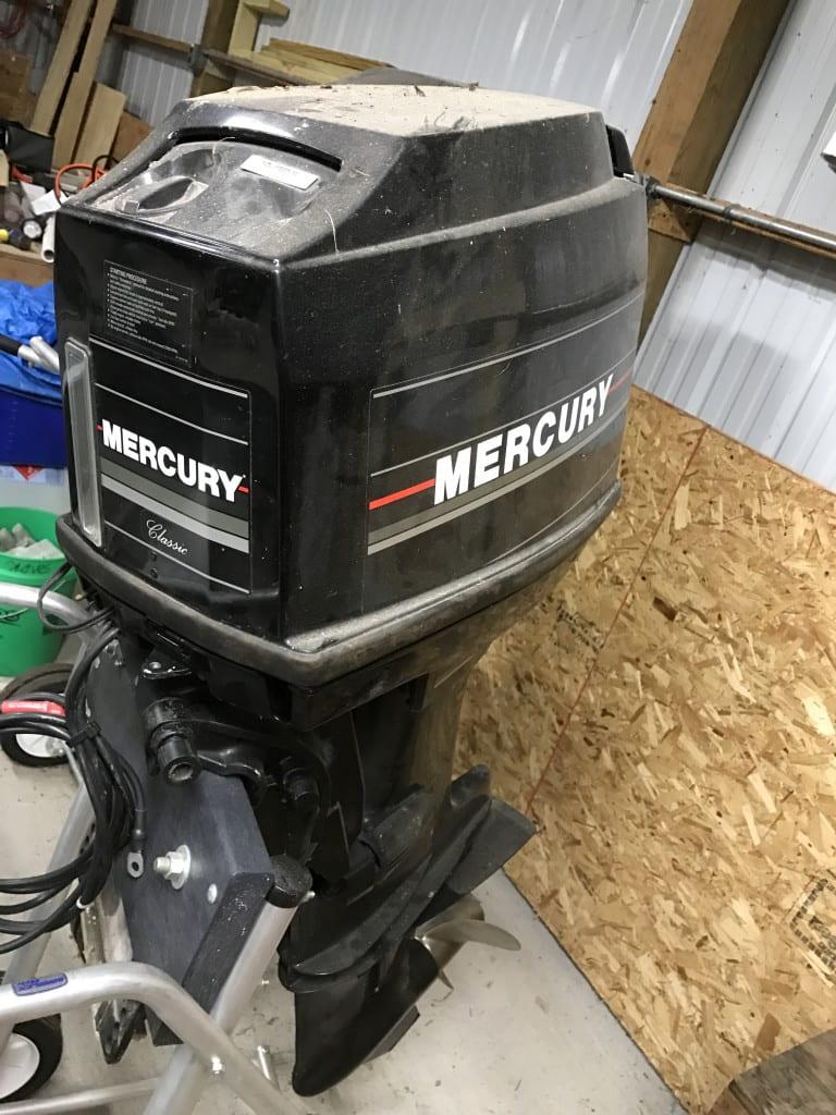 40 hp Mercury 2 stroke
