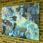 """Urban Wind"" by UWGB student Jason Keller. Location: 3rd floor, near printers."