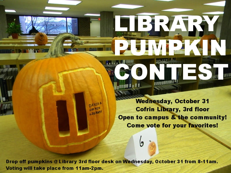 Library Pumpkin Contest