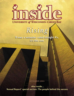 Inside Magazine Cover - November 2004 Issue