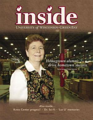 Inside Magazine Cover - February 2005 Issue
