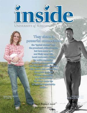 Inside Magazine Cover - November 2005 Issue
