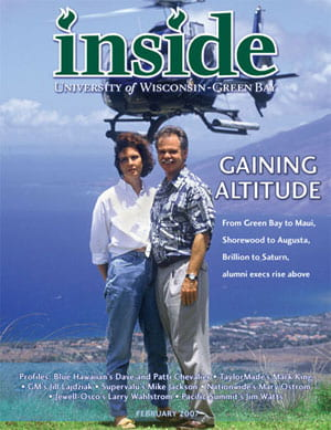 Inside Magazine Cover - February 2007 Issue