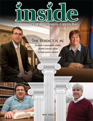 Inside Magazine Cover - May 2008 Issue