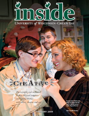 Inside Magazine Cover - February 2009 Issue