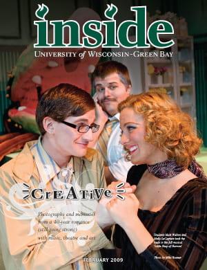 Inside Magazine Cover - February 2009 Issue