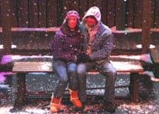 Theatre production of Almost, Maine