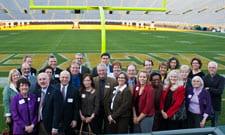 UW System Regents visit Lambeau Field