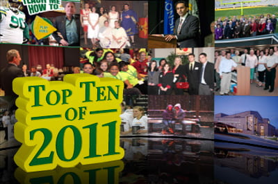 Top 10 positive stories of 2011