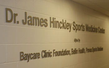 James Hinckley Sports Medicine Center