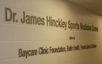 James Hinckley Sports Medicine Center