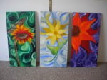 Kimberly Martiny was asked to paint a mural for a local mental health facility, she happily agreed