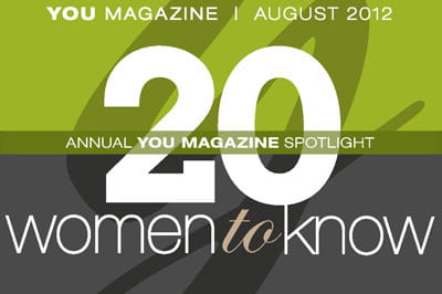 "Seven alumni among 20 ""Women to Know"" in annual magazine feature"
