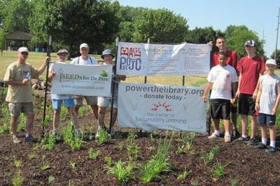 native plants garden project