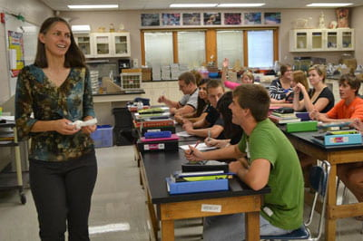 Top teacher: H.S. teacher of the year credits UW-Green Bay mentor