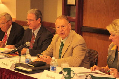 UW-Green Bay Foundation Board of Directors/Councill of Trustees meeting, Sept 2012