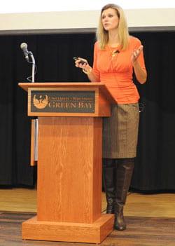Julie Van Straten, Women's Leadership Networking Luncheon