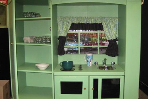 Play Kitchen, Laffle prize