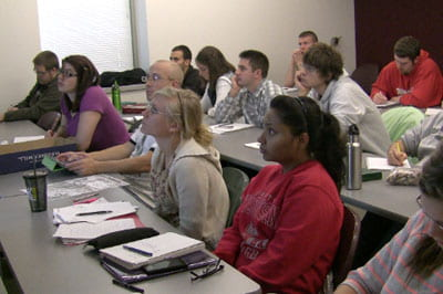 International viewpoints: Environmental class draws from four continents